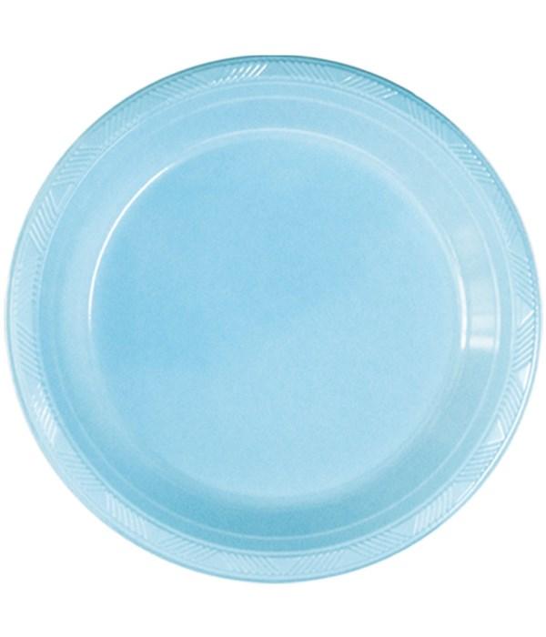 "9""/10ct pls plate bb-blue 36s"