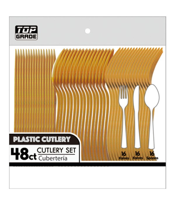 48ct cutlery gold 48s
