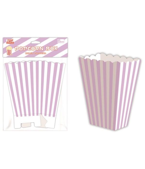 6ct popcorn box laven 12/144s