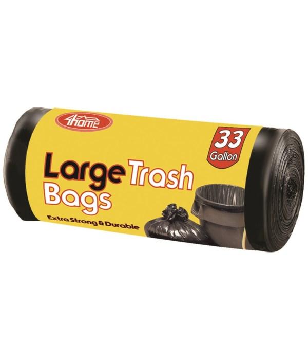trash bag roll 33gal/8ct 48s