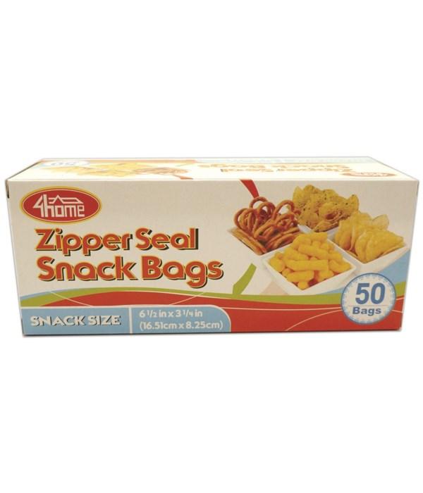 zipper snack bag 50ct/48s