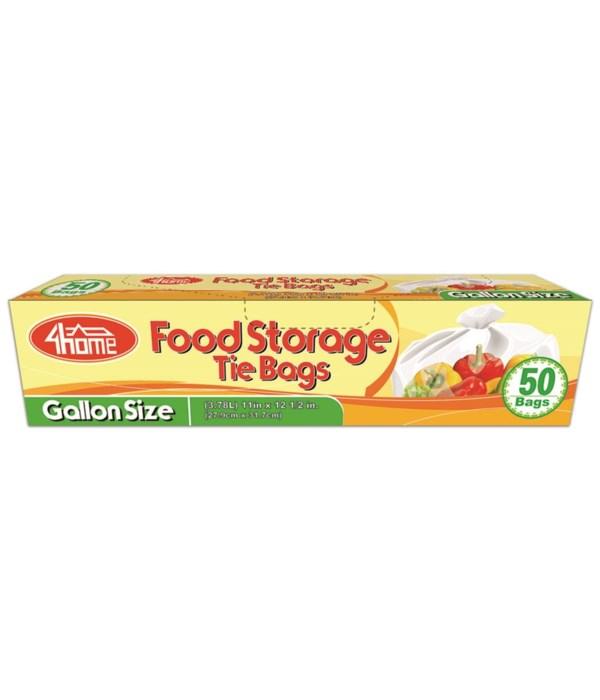 gallon size food bag 50ct/48s