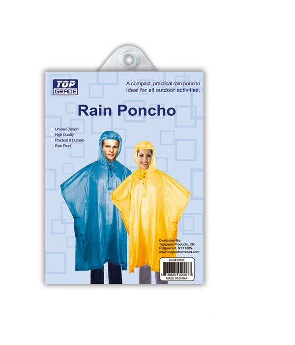 adult poncho 72s