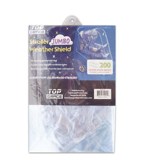 clear stroller cover/jumbo 24s