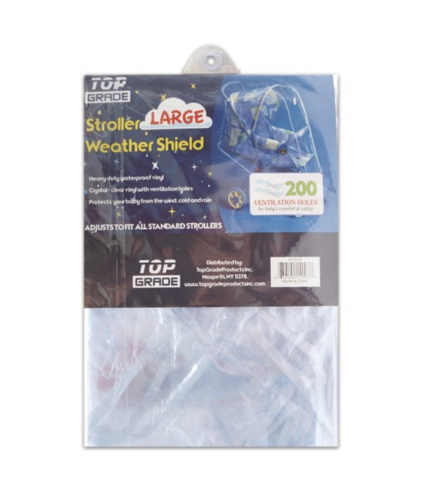 clear stroller cover/large 24s