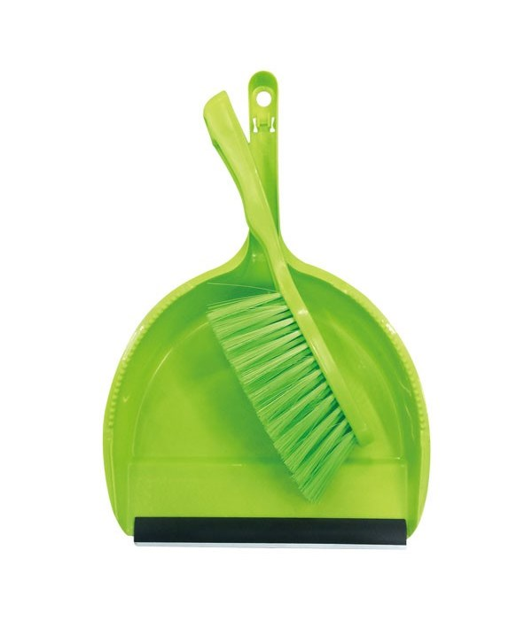 dustpan & broom set 48s