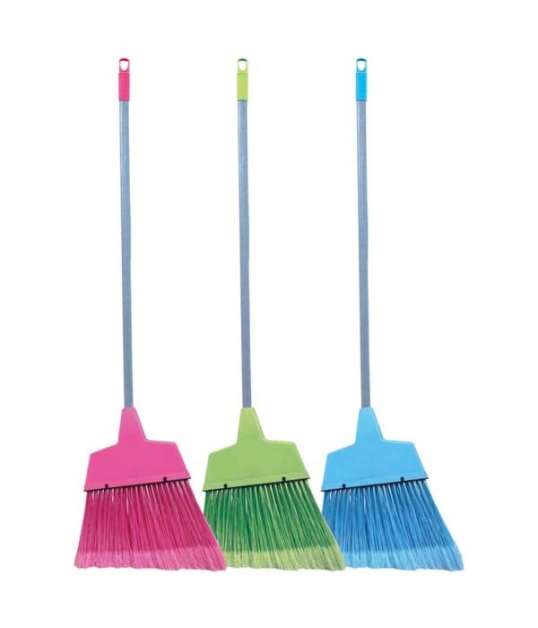 """broom w/42"""" handle stick 24s"""