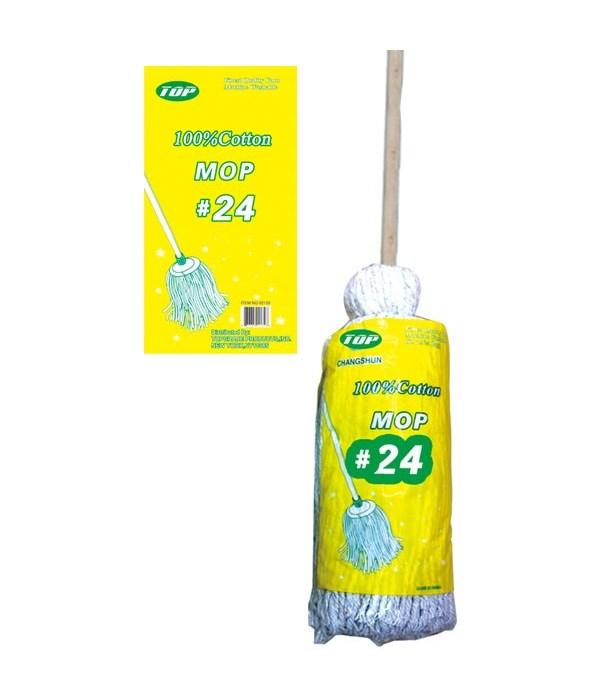 #24 cotton mop 12s