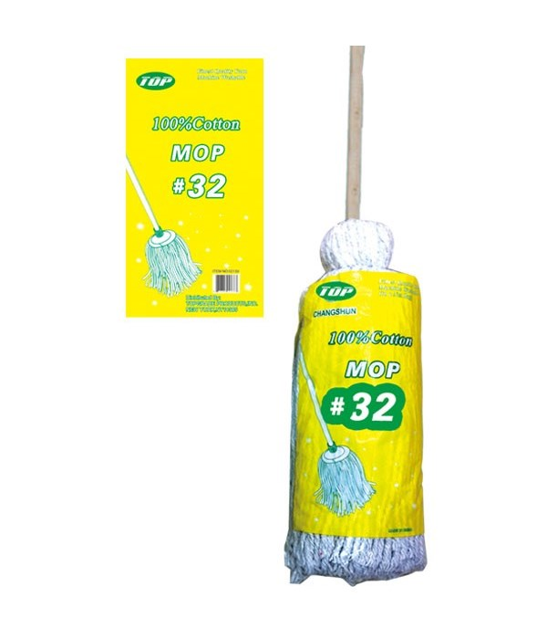 #32 cotton mop 12s