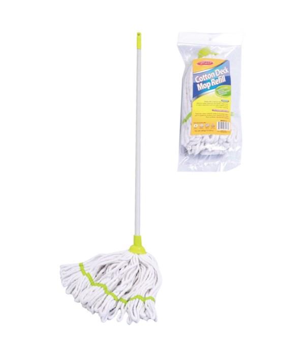 micro mop w/metal hdl 12s