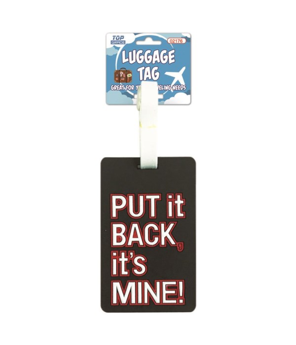 luggage tag 12/300s