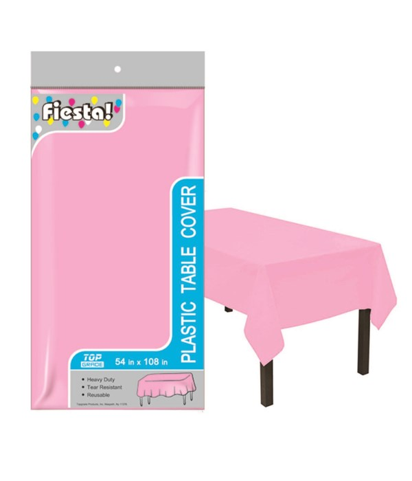 """table cover bb pink 54x108""""/48"""