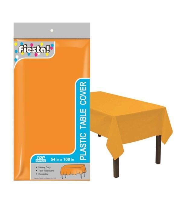 """table cover orange 54x108""""/48s"""