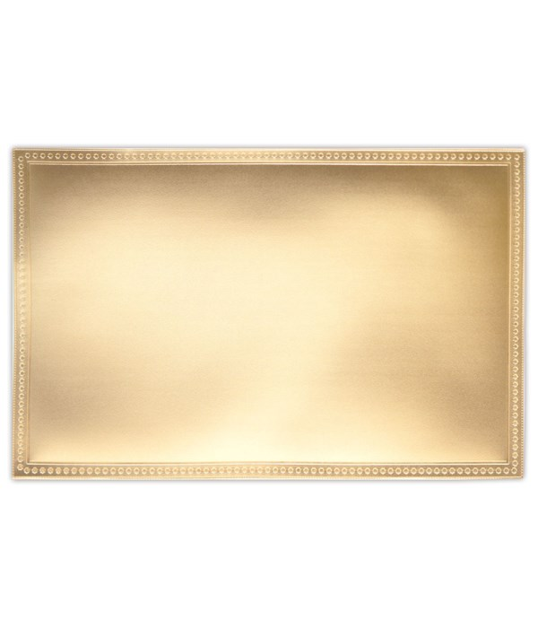 placemat SQ rose gold 12/240s