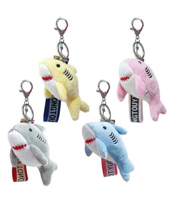"4""key chain w/shark 20/500s"