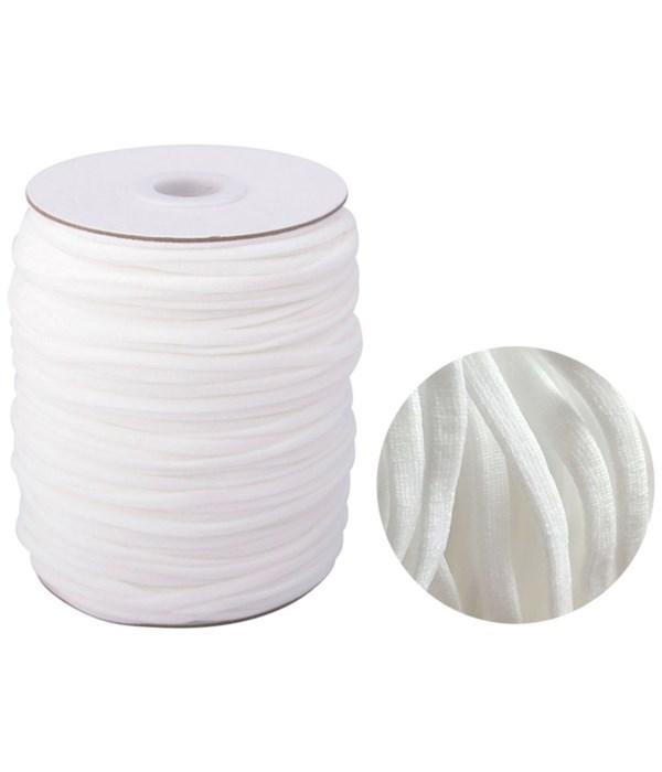 200ydx3mm elastic string wht72