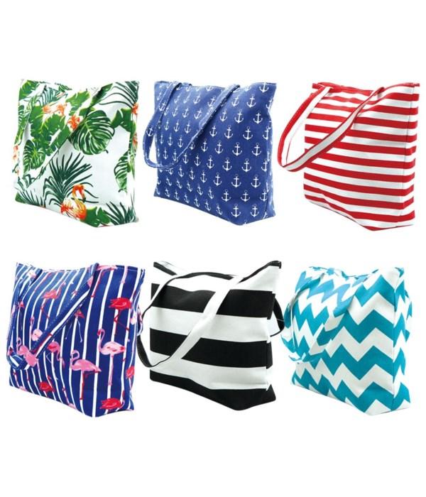 canvas beach bag 12/120s