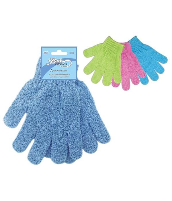 2pc bath glove 48s