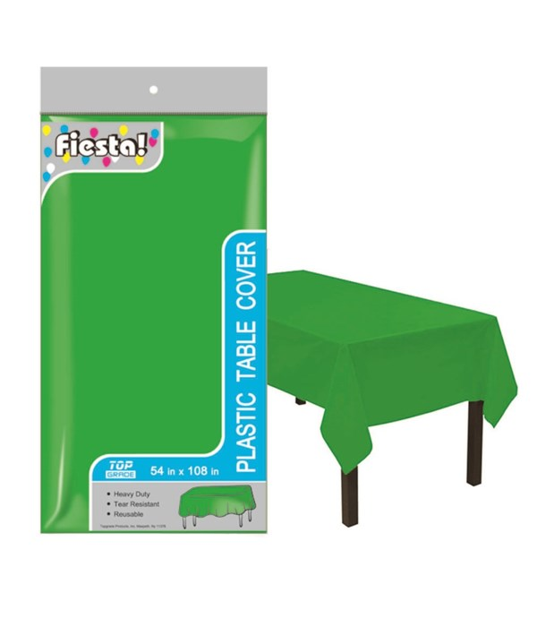"""table cover H-green 54x108""""/48"""