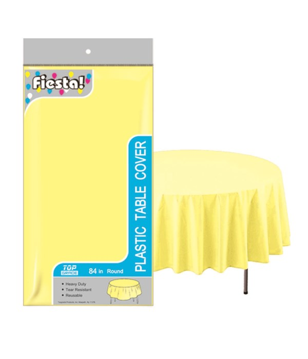 """table cover yellow 84""""/48s"""