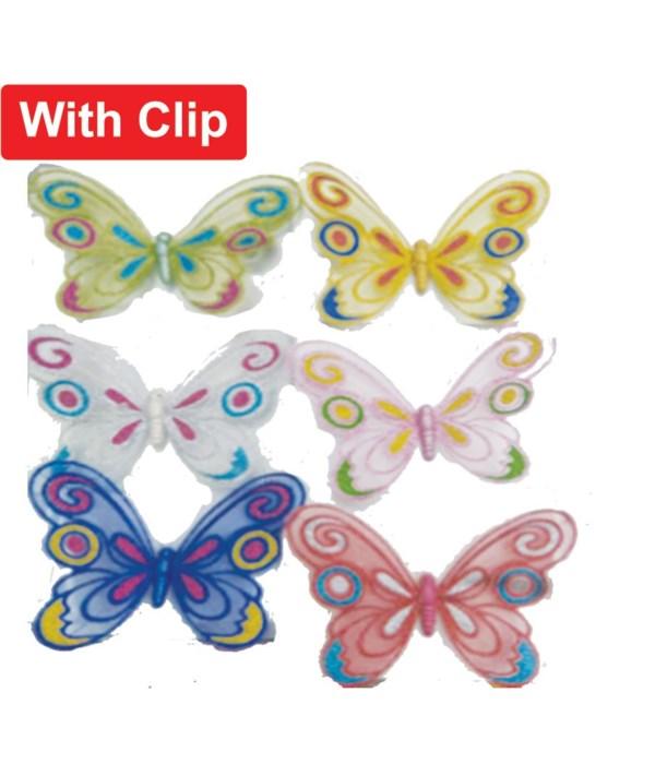 7.9 butterfly w/clip 6/240s