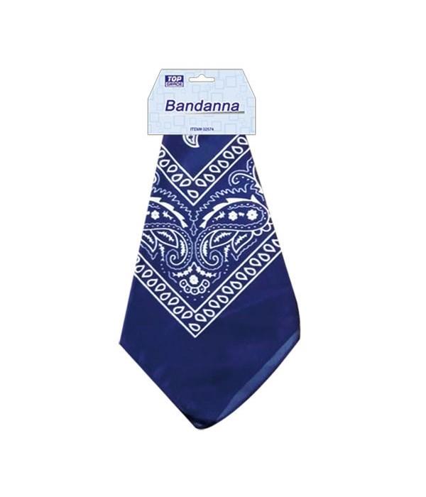 bandana navy blue 12/600s