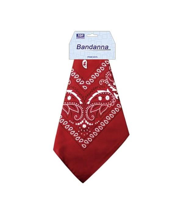 bandana burgundy 12/288s