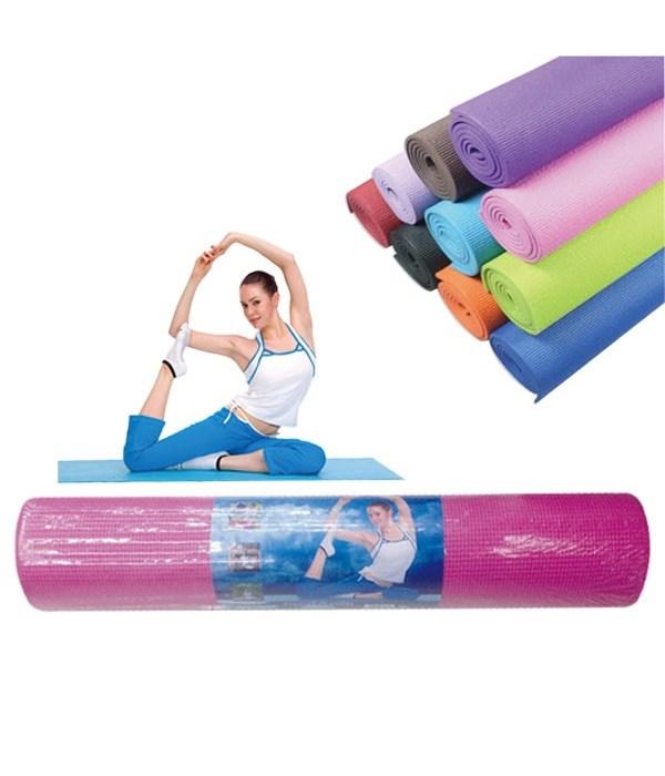 "yoga mat w/bag 68x24x0.24""/12s"