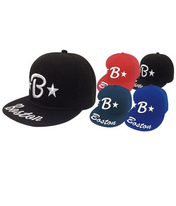 snapback cap/Boston 12/144's