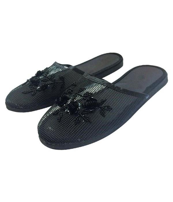 chinese slipper-blk #6-11/72s