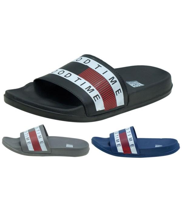 men's slippers 8-13#/36s