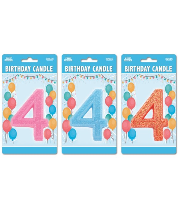 b'day candle GLT #4 24/288s