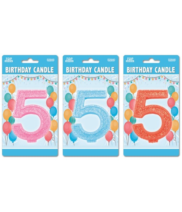 b'day candle GLT #5 24/288's