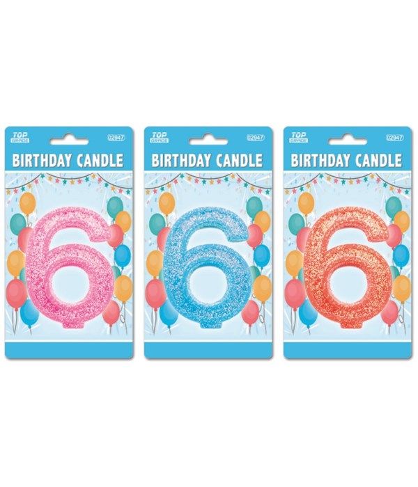 b'day candle GLT #6 24/288s