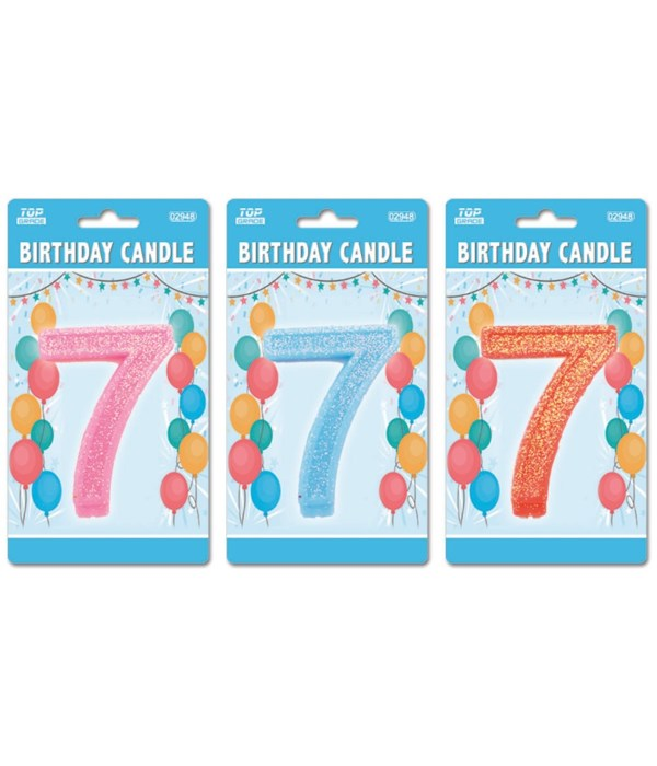 b'day candle GLT #7 24/288s