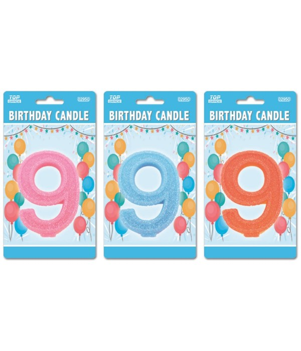 b'day candle GLT #9 24/288s