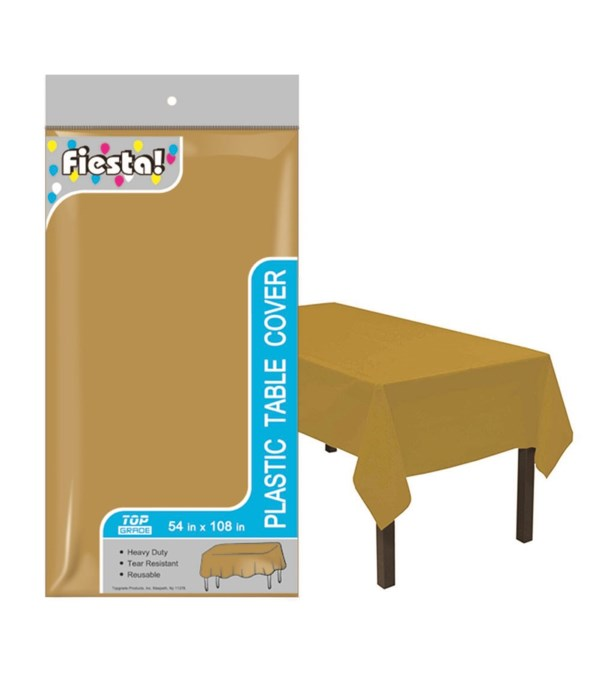 """table cover gold 54x108""""/48s"""