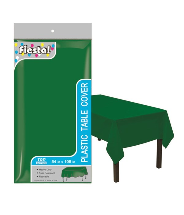 """table cover F-green 54x108""""/48"""