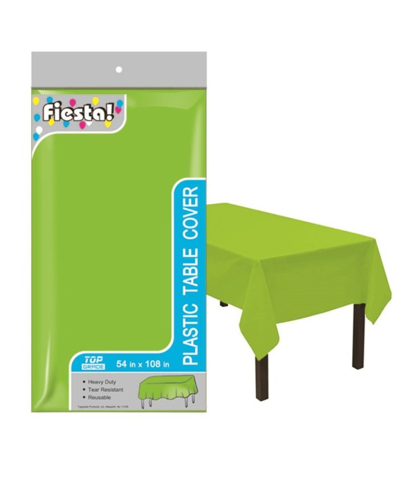 """table cover lime 54x108""""/48s"""