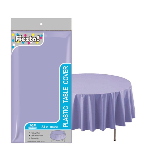 """table cover lavender 84""""/48's"""