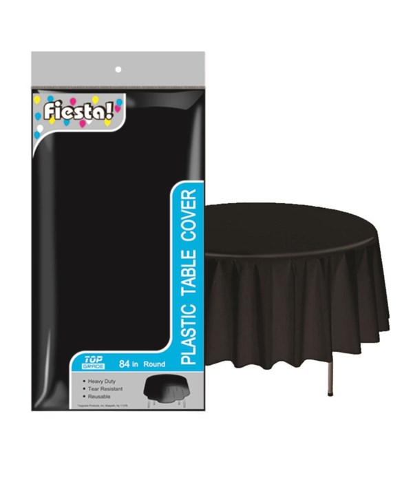 """table cover blk 84""""/48s"""