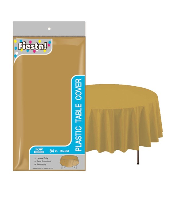 """table cover gold 84""""/48s"""
