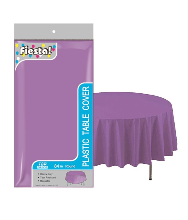 """table cover purple 84""""/48's"""