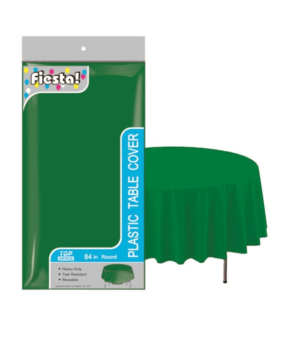 """table cover forest grn 84""""48s"""