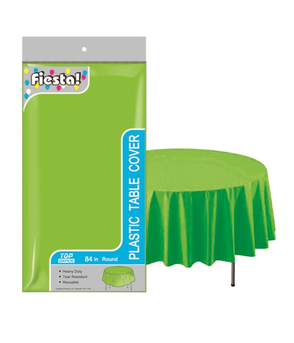 """table cover lime 84""""/48's"""