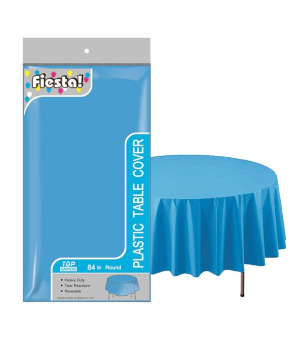 """table cover turquoise 84""""/48's"""