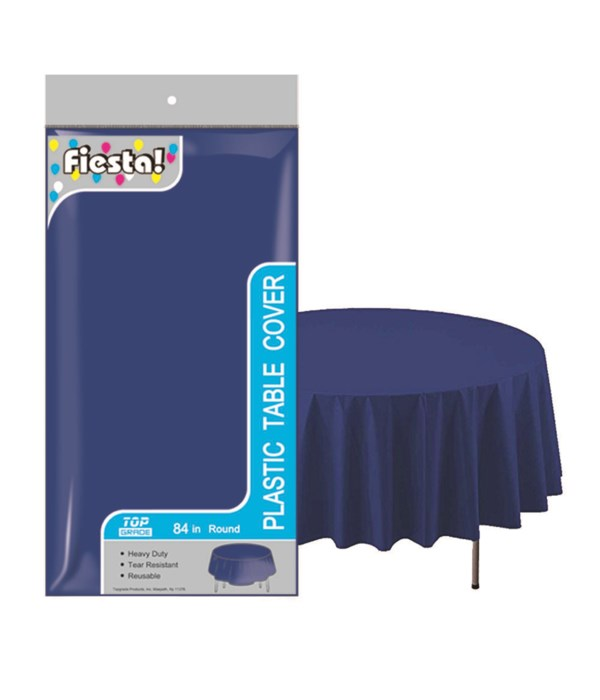 """table cover dark blue 84""""/48s"""