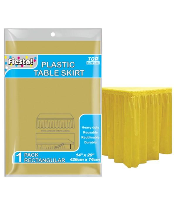 "table skirt gold 29x168""/36s"