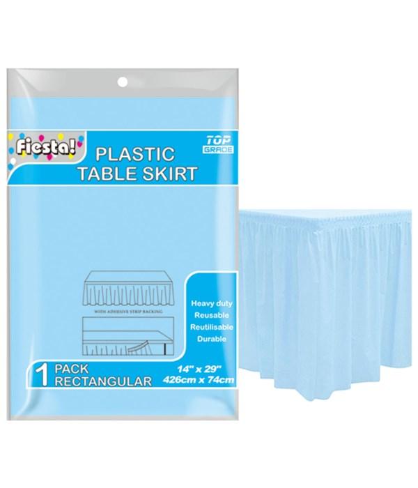 table skirt bb-blue 29x168/36