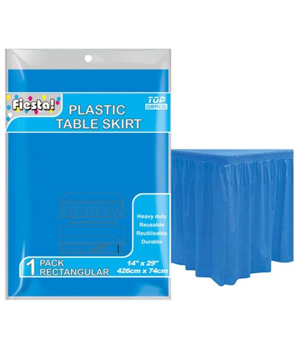 "table skirt d-blue 29x168""/36"